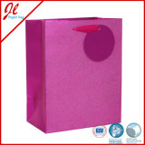 Pink Glitter Luxury Paper Gift Bags with Glister and Tag