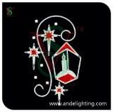 Christmas Candle Motif LED Rope Light for Outdoor Decoration