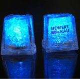 Flashing LED Ice Cube with Logo Printed (3188)