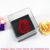 Beautiful Acrylic Clear Retain Freshness Flower Display Box