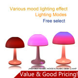 Magic Mood and Music LED Table Lamp with Bluetooth Speaker and TF Card Player