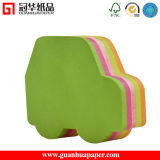 SGS Promotional Funny Car Shaped Paper Cube