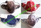 Knitted Fabric&Faux Fur Trapper Hat with Earflap (YZDH-H375)