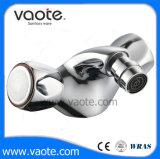 Double Handle Zinc Body Bidet Faucet/Mixer (VT61304)