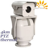 Auto Focus Middle Range Thermal IP Camera