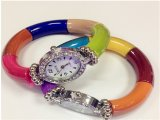 Stitching Colors Fashion Bracelets Watches