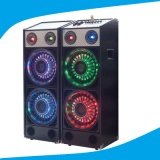Double 10 Inch Fashional 2.0 Speaker with Colorful Light T239-16