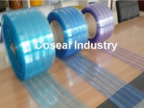 Transparent Double Ribbed Plastic PVC Rolls