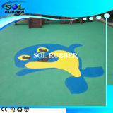 Colorful Sport Flooring EPDM Granules Rubber Granules