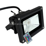 High Power Outdoor Projector Solar RGB LED Flood Light 12V 85-265V