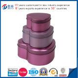 Heart Shaped Tin Jewelry Box Manufacturers China (JY-WD-2015101002)