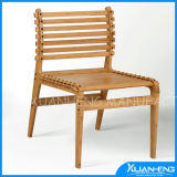 Leisure Solid Bamboo Chair for Outdoor Furniture with Moden Design