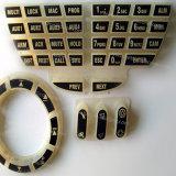 Customize Plastic Rubber Silicone Laser Carve Keypad