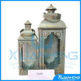 Lantern with Rotation Candle Holder