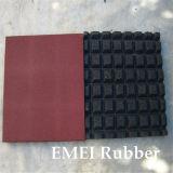 High Quantity Standard Square Rubber Tile for Amusement
