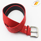 New Fashion Ladies PU Leather Belt with Press Buckle (HJ15006)