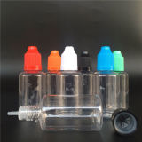15ml 30ml 50ml 100ml Colorful Pet Dropper Bottle with Childproof Cap for E Juice