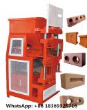Macinery Brick Making Machine Hr2-10 Soil Clay Interlocking Brick Making Machine Building Construction Material