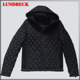 Fashion Black Nylon Jacket for Men in Outerwear
