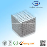 10X10X10 High Precision Zn Coating Permanent NdFeB Magnet Cubes