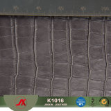 New Fashion Elastic The Most Popular PVC Faux Crocdile Pattern Leather for Handbags