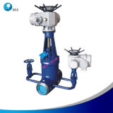 Electric Actuator Cast Steel Stainless Steel Butt Weld Gate Valve
