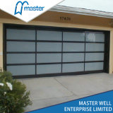 Transparent Sectional Commercial Door/Temperated Glass Garage Door/Frosted Glass Garage Door
