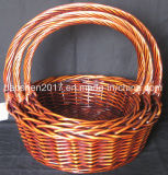 Willow Basket for Christmas