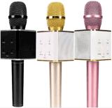 2018 Hot Sale Home Mobile KTV Karaoke Wireless Bluetooth Sing Song Speaker Microphone