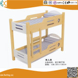 Kindergarten Children Wooden Double Beds Hx4301h