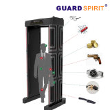 Archway Portable Metal Detector Password Management 6 Zones Metal Detector