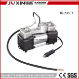 12V Tire Inflator 150psi Heavy Duty Battery Clip Double Cylinders Metal Pump Car Air Compressor