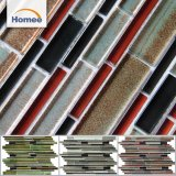 Good Quality Cheap Irregular Colorful Decorative Glass Mosaic Tile