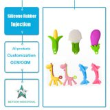 China Factory Customized Natural Non-Toxic Silicone Rubber Toy Baby Teether