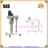 Movable Agitator for Paint Production