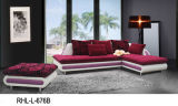 Flower Pattern Combination Sofa (RHL L-676) /Fabric Sofa/Corner Sofa