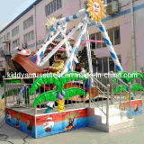 Kids Mini Pirate Ship with Trailer for Playgrounds