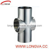 Stainless Steel Sanitary Cross Tee