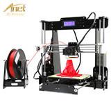New Version Auto Level High Accuracy Desktop 3D Printer Anet A8