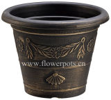 Cosmetic Round Flower Pot (KD3102S-KD3105S)