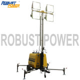 Electronic Controlled Emergency Outdoor Manual Portable Mobile Light Tower