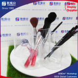 High Transparent Acrylic Brush Holder with Lid