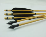 Wood Archery Arrows T-Wooden Black
