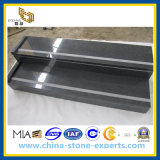 Natural Stone Granite Black Stairs/Steps for Exterior and Interior (YQG-GS1021)