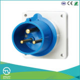 Non-Waterproofing Male Panel-Mounted Plug for Industrial Plugs & Sockets
