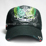 Grinding Washed Distressed Printing Embroidery Sport Baseball Cap (TRB032)