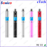 Adjust Voltage E Tech Electronic Cigarette Rechargeable EGO Battery with LCD Display