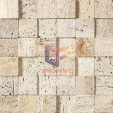 Cream Travertine Natural Stone Mosaic (CFS802)