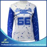 Custom Sublimation Lacrosse Long Sleeve Sporting T Shirt