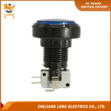 IP40 Protection Level Blue LED Push Button Switch Pbs-004